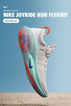 The new Nike Joyride Run Flyknit. Thousands of tiny beads working hard so you do… The new Nike Joyride Run Running Shoes For Men, Running Women, Sneaker Store, Sandals Outfit, Sport Sandals, Nike Sandals, Baskets, New Shoes, Women's Shoes