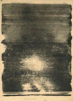 psofila:  Gerhard Richter - Elbe 6 Gerhard Richter, Cy Twombly, Robert Motherwell, Joan Mitchell, Camille Pissarro, Texture Photoshop, Mark Rothko, Nocturne, Art Sketchbook