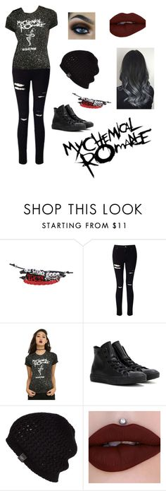 """""""MCR fan"""" by my-chemical-hate ❤ liked on Polyvore featuring Miss Selfridge, Converse and UGG Australia"""