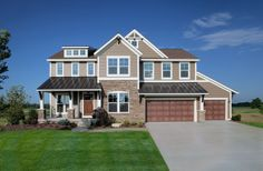 Lakeshore area new homes, Parkhurst house plan by Eastbrook Homes.