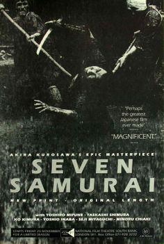 Seven Samurai - Akira Kurosawa