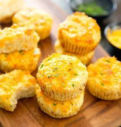 These cheesy cauliflower muffins are savory, low carb, gluten-free and delicious. Also, unlike other cauliflower recipes, you don't need to dry out the cauliflower. These photos came out a little more dark and moody than I intended. It was a rainy day tod