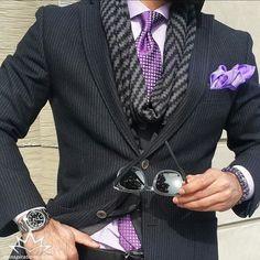 Purple black details