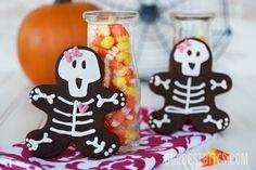 Skeleton Cookies. so easy