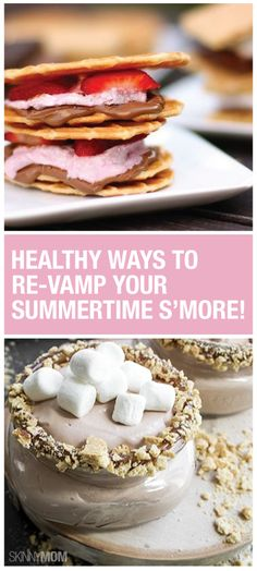 No need for campfires with these yummy s'mores recipes!
