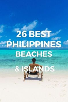 The Philippines' 26 Best Beaches & Islands. See the most beautiful white-sand beaches and top islands to visit in the Philippines, perfect for your vacation, holiday & weekend getaways. Voyage Philippines, Philippines Vacation, Les Philippines, Philippines Travel Guide, Philippines Beaches, Exotic Beaches, Tropical Beaches, Phuket, Cambodia
