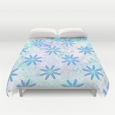 #Grunge #Daisy #Duvet Cover by KCavender Designs - $99.00 #Duvet #Cover #Bedding #Bedroom #Decor By #KCavenderDesigns
