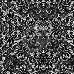 Photo about Beautiful black lace texture on with background. Image of texture, roses, dress - 18393628 White Damask, White Lace, Black And White, Gold Lace, Victorian Wallpaper, Lace Wallpaper, Texture Photography, White Photography, Linens And Lace