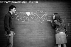 Adorable engagement photo by Powers Photography Studios  www.powersstudios.com
