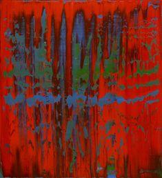 Gerhard Richter Abstraktes Bild 1997 112 cm x 102 cm Catalogue Raisonné: 848-2 Oil on canvas