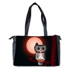 Red Owl Diaper Bag #