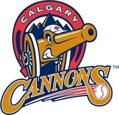 The first baseball team to give me a cheque for work I'd do for free... the Calgary Cannons of the Pacific Coast League.  I worked there for five years.