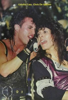 GT and Chris, from The Warning tour.