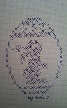 Filet Crochet, Crochet Motif, Crochet Doilies, Crochet Chart, Crochet Stitches, Cross Stitch Heart, Beaded Cross Stitch, Cross Stitch Embroidery, Embroidery Patterns