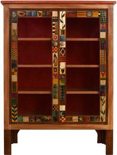 Large Double Door Bookcase
