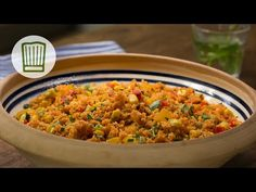 ▶ Couscous-Salat lecker würzig Rezept - YouTube