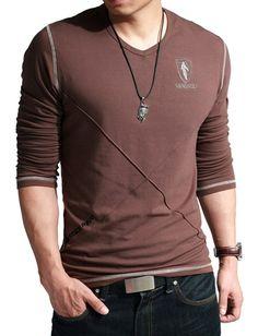 Modern Slim Fit Printed T-shirt For Men Fashion