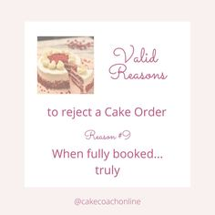 @cakecoachonline posted to Instagram: I see so many cake decorators taking on more and more orders - and then wondering why they are totally exhausted and not enjoying their craft anymore. But the simple fact is - you need to know just how long each order is going to take you. Then you can plan it into your diary. And you need to know starting the month or week - just how many hours you have got spare to create orders for customers. Without that baseline of - having x amount of hours availab