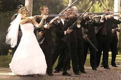 Now this is my idea of a shot gun wedding http://www.concealedcarrie.com/