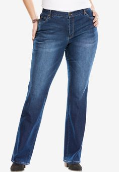3b02552a37f Bootcut Stretch Jean - Women s Plus Size Clothing Plus Size Stretch Jeans