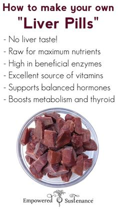 Gram for gram, liver is the most nutrient dense food. DIY Liver Pills are an easy, no-taste way to get the maximum benefits!