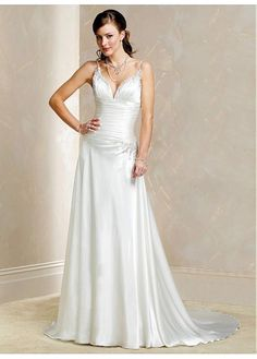 LACE BRIDESMAID PARTY BALL GOWN IVORY WHITE PROM DIVINE SHEATH SPAGHETTI STRAPS WEDDING DRESS