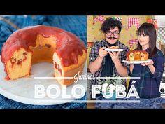 BOLO DE FUBÁ COM GOIABADA | O Bigode Na Cozinha - YouTube