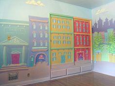 playroom murals | Mural For Boys Playroom Woodland Hills Ca Painting