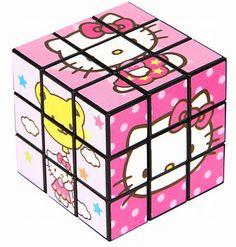 キティちゃんのルービックキューブ