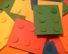 Invitations d'anniversaire de LEGO
