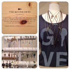 Brand new Giving Keys at La Ti Da Boutique