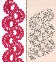 Výsledek obrázku pro crochet diagram pattern