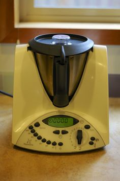 Thermomix - Do you ever wish your blender had a heating element at the bottom?  And could weigh things?