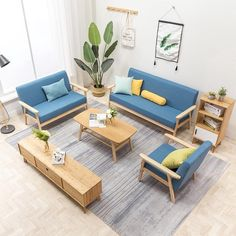6 Basic Items From Shopee For The Minimalist Home | Qanvast Minimalist Interior, Minimalist Home, Circular Coffee Table, Japanese Interior Design, Settee Sofa, Home Look, Interior Design Living Room, Outdoor Sofa, Simple Designs
