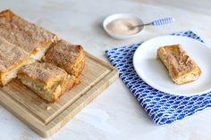 Op internet zagen we deze churros cheesecake voorbij komen en we konden niet wachten om hem te maken. Zie hier het verrukkelijke resultaat!