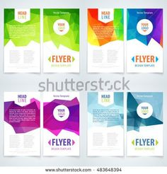 stock-vector-vector-template-set-of-flyer-cover-or-leaflet-with-triangle-background-template-design-layout-483648394.jpg (450×470)