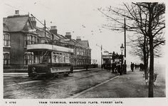 Tram to Dale Street at Fazakerley terminus. Liverpool History, Liverpool Home, London Bus, Old London, Epping Forest, London Transport, West Ham, British History, Old Photos
