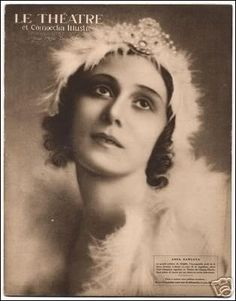 I love her story. She initially didn't have the body of a ballerina and ballet didn't come easily to her but she ended up one of the greatest ballerinas of all time. Anna Pavlova, Vintage Ballet, Dance World, French Magazine, Nureyev, Dance Like No One Is Watching, Russian Ballet, Aesthetic Movement, Wonderful Picture