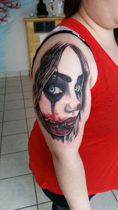 Horror tattoo