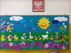 Soft Board Decoration, School Board Decoration, Class Decoration, School Decorations, Kids Crafts, Summer Crafts, Arts And Crafts, Paper Crafts, Preschool Decor