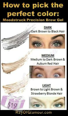 Younique BROW WOW! Get your brows on fleek everyday! Love the liner and gel - so easy and lasts all day www.thedivadonna.com