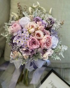 I love the delicate mix of textures, not to mention the soft colors