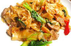 "Thai drunken noodles (pad kee mao): pretty much my favorite ""splurge"" indulgence ever."