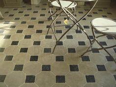 Octagon Limestone Flooring - Authentic Provence 9x9