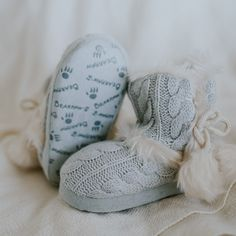 Add some warmth to your little ones feet with these adorable indoor slipper booties 💙 Shop Kids' Kinsley: bearpaw.com/ #BearpawShoes #LiveLifeComfortably