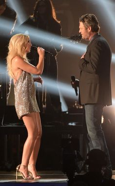 Ashley Monroe Super-Short Dress While Performing With Blake Shelton - she looked awesome. Ashley Monroe, Much Music, Cma Awards, Country Music Artists, Blake Shelton, Gypsy Soul, Mini Skirts, Blame, Concert