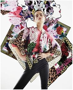 Four Season Giant Square by AIKO for Louis Vuitton. Image from ilvoelv.com.