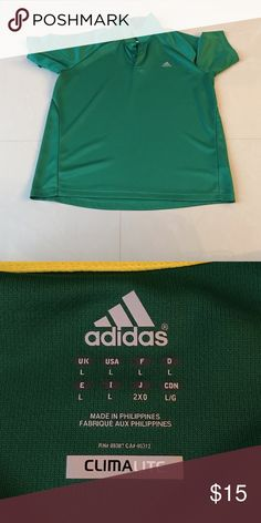 Men's polo Adidas men's polo.  In excellent condition.  No rips, tears, or stains. Shirts Polos