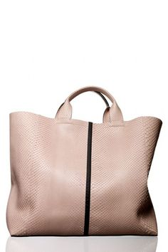 Slouchy leather = dream bag
