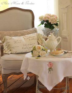 Tea At The Garden Place... (1) From: Warren Grove Garden, please visit